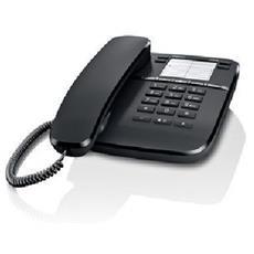 TELEF. FILO DA410 BLACK telefono da tavolo a filo, presa RJ9 x cuffia