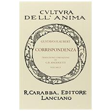Corrispondenza. Vol. 1