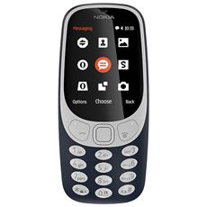 "3310 Blu Display 2.4"" +Slot MicroSD con Bluetooth RadioFM e Fotocamera 2Mpx - Tim Italia"