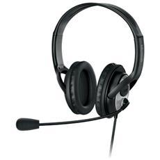 LifeChat LX-3000 Stereofonico Padiglione auricolare Nero cuffia e auricolare