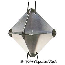 Riflettore radar 21 x 21 x 30 cm