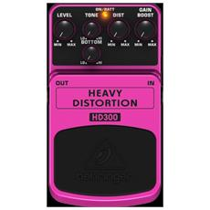 Bh Hd300 Effetto Pedale Distors Heavy Metal