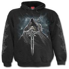 Grim Rider Hoody Black S