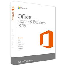Office 2016 Home & Business 32/64 Bit Esd Licenza Elettronica