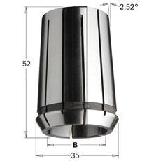 Pinza Elastica Eoc-25 Din-6388 (mm35x52) D=16mm (5/8') 185.160.00