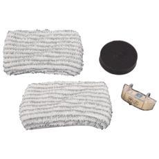 Zr0058 Kit Panni + Anticalcare Per Clean & Steam
