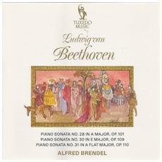 Ludwig van Beethoven - Klaviersonaten Nrn. 28/30/