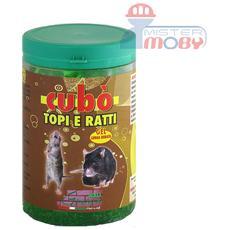Repellente disabituante lunga durata allontana anti ratti topi cubo gel da 1 litro