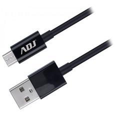 Cavo Adj Usb / Micro Usb 2.0 1,5m Nero Ai101