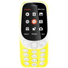 """3310 Giallo Display 2.4"""" +Slot MicroSD con Bluetooth RadioFM e Fotocamera 2Mpx - Tim Italia"""