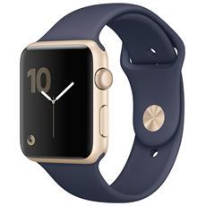 Watch Serie 2 Impermeabile 5ATM WiFi / Bluetooth GPS con Contapassi e Cardiofrequenzimetro Blu - Europa