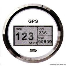 Spidometro / contamiglia GPS GUARDIAN senza trasduttore Bianco / Inox