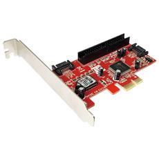 ICC X-PCI-SATA2II - Scheda PCI Express 2xSATA + 1xATA133 / IDE