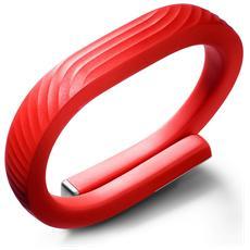 UP24 Braccialetto Wireless Bluetooth per attività fisica + sonno Taglia M compatibile con iOS e Android - Rosso
