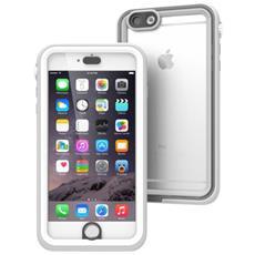 iPhone 6/6s Plus Case Impermeabile bianco& Mist grigio