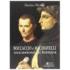 Boccaccio e Machiavelli. Occasioni di lettura