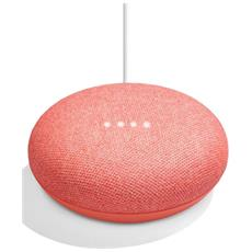 Home Mini Smart Speaker con Assistant Integrato Colore Corallo
