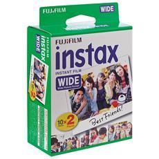 Instax Wide Film 20 Pellicole Instantanee per Fotocamere Instax Wide