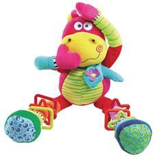 Hippo Fou, Drago giocattolo, Multicolore, Tessuto, Plastica, Velluto, Ragazzo / Ragazza