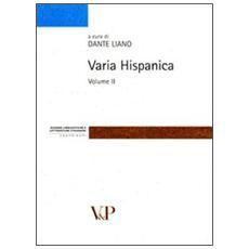 Varia hispanica. Vol. 2