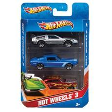 Hot Wheels: Confezione 3 Veicoli