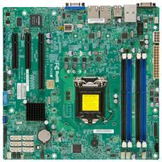 X10SLH-F Intel C226 Socket H3 (LGA 1150) Micro ATX server / workstation motherboard