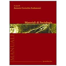 Materiali di sociologia