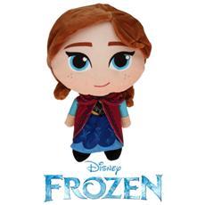 Peluche Anna Frozen Disney Stilizzata Bambola Disney Principessa Cm. 25