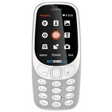 """3310 Grigio Display 2.4"""" +Slot MicroSD con Bluetooth RadioFM e Fotocamera 2Mpx - Tim Italia"""