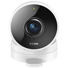 D-LINK - Videocamera IP DCS-8100LH Full HD 180° Wi-Fi da Interno Giorno / Notte con Sistema di Rilevazione...