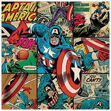Captain america Statua Colore Vario MK247