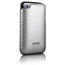 iPhone 3G Carbon Fiber Leather Cases