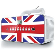 Radio Portatile M-28 UK Supporto MP3 Display LCD Ingresso USB