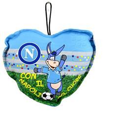 Cuscino Mini Per Auto Ssc Napoli Con Ventosa