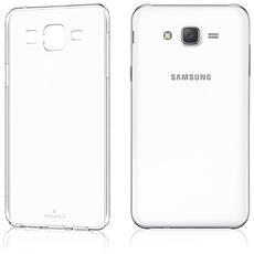 Custodia Cover Anukku? Ultra Fina Trasparente Morbida In Air Gel Per Samsung Galaxy J7 2015 + Pellicola