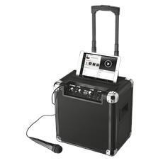 Sistema Audio Portatile Fiesta Plus Party con Potenza di 40W Bluetooth Jack 3.5mm + Microfono Integrato - Nero