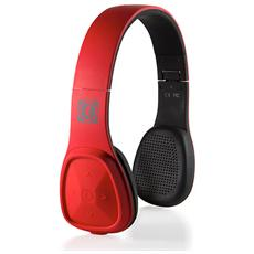 Los Cabos, Stereofonico, Bluetooth, Padiglione auricolare, Rosso, Bluetooth, Sovraurale
