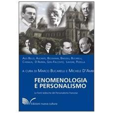 Fenomenologia e personalismo