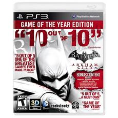 PS3 - Batman Arkham City Game Of The Year Edition