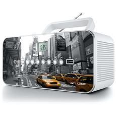 M-28 NY, Portatile, Analogico, FM, MW, LCD, 17 cm, 26 cm