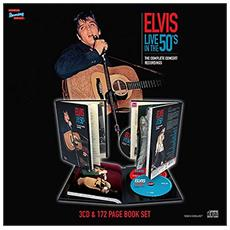 Elvis Presley - Live In The 50s - The Complete Concert Recordings (3 Cd + 172 Page Book)