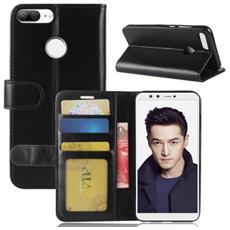 Custodia Portafoglio Finta Pelle Per Smartphone Huawei Honor 9 Lite