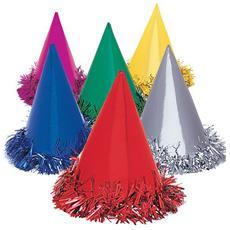 Cappellini Per Feste Colori Assortiti (confezione Da 6) (taglia Unica) (assortiti.)