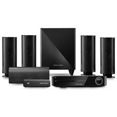 Harman / Kardon BDS 885S 5.1channels 525W Compatibilità 3D Nero sistema home cinema