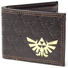 Nintendo - Zelda Emboss With Gold Foil Bifold (Portafoglio)
