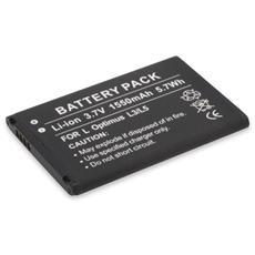 Li-Ion batt. 1550 mAh per LG Optimus L3 / L5
