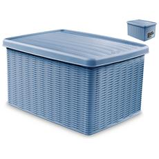 "Scatola Chius 39x29x21 Elegance Blu""av Sistemazione"