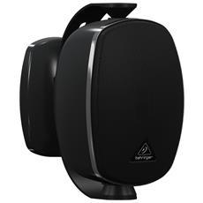 SL4210, Montabile a parete, Speaker set unit, Cablato, 120 - 20000 Hz, Nero, Plastica