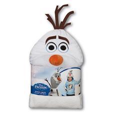 Frozen - Accappatoio Con Cappuccio Testa Di Olaf