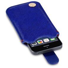 009-095-037 Custodia a scorrimento Blu custodia per cellulare
